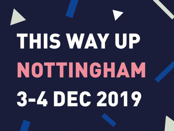 This Way Up Nottingham logo