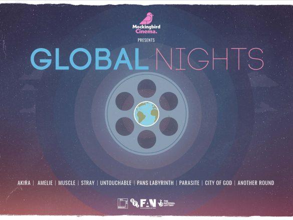 landscape Global Night Poster